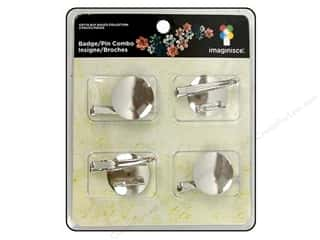 Clearance Blumenthal Favorite Findings: Imaginisce Badge/Pin Combo 4pc