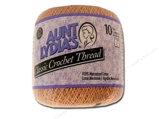 Yarn, Knitting, Crochet & Plastic Canvas Pearl Cotton: Aunt Lydia's Classic Cotton Crochet Thread Size 10 Copper Mist