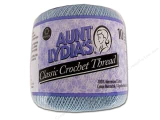 Star Thread $8 - $10: Aunt Lydia's Classic Cotton Crochet Thread Size 10 Delft