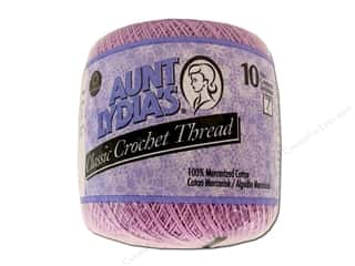 Aunt Lydia&#39;s Classic Crochet Thread Size 10 Wood Violet