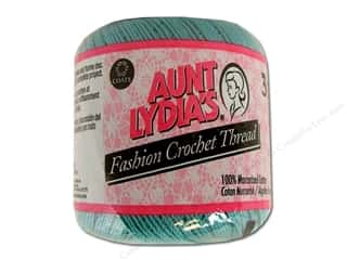 Weekly Specials: Aunt Lydia&#39;s Fashion Crochet Thread Size 3 Warm Teal