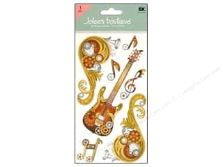 Jolee&#39;s Boutique Stickers Large Steampunk Music Flourish