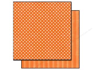 Echo Park Paper 12x12 Dots &amp; Stripes Candy Sm Mngo (25 sheets)