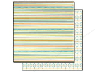 Echo Park Paper 12x12 Splash Mini Stripes (25 sheets)