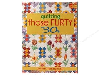 Books Clearance: Quilting Those Flirty 30's Book