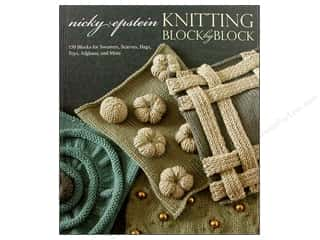 Potter Publishing Crochet & Knit: Potter Publishers Knitting Block By Block Book