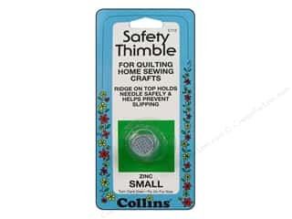 Collins Finger Protector/Thimbles: Safety Thimble by Collins Zinc Small
