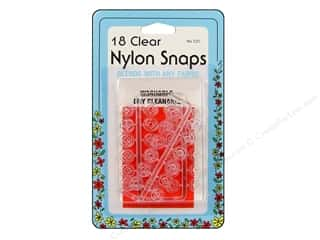 Blend Clear: Nylon Snaps by Collins Clear 18 sets