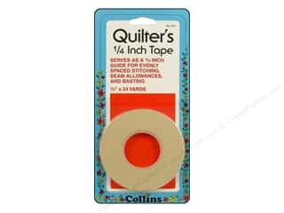"Guidelines 4 Quilting 24"": Quilters Tape by Collins 1/4 in. 24 yd."