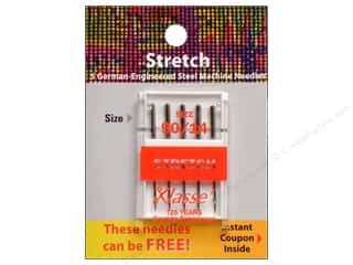 Brothers Needles / Machine Needles: Klasse Machine Needle Stretch Size 90/14 5pc Card