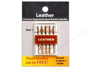 Klasse Machine Needle Leather Sz 110/18 5pc