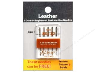 Klasse Machine Needle Leather Sz 80/12 5pc