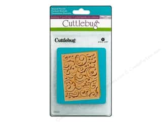Provo Cuttlebug Emboss A2 Folder Musical Flourish