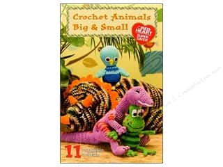 Coats & Clark Books Crochet Animals Big & Small Book