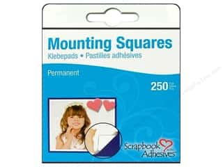 Glues Adhesives & Tapes: 3L Scrapbook Adhesives Mounting Squares 250 pc. White