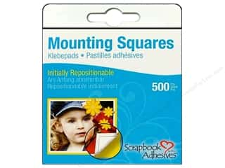 Non-Profits Glue and Adhesives: 3L Scrapbook Adhesives Mounting Squares 500 pc. Repostitionable