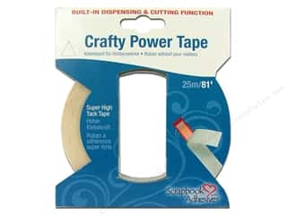 Scrapbooking Tapes: 3L Scrapbook Adhesives Crafty Power Tape 1/2 in. x 81 ft.