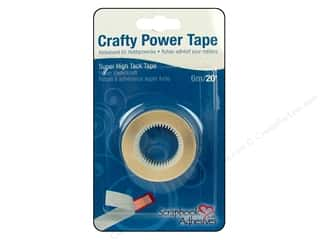 Glues, Adhesives & Tapes $1 - $3: 3L Scrapbook Adhesives Crafty Power Tape 1/4 in. x 20 ft. Roll