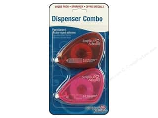 3L Scrapbook Adhesives E-Z Dispenser Combo Pack 2 pc.