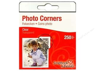 Roc-Lon: 3L Scrapbook Adhesives Photo Corners 250 pc. Clear
