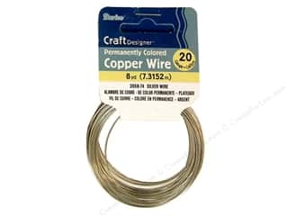 Wirework Darice Craft Wire: Darice Craft Wire 20 Ga Silver 8yd