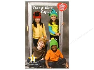 Coats & Clark Books Crazy Kids Caps Book