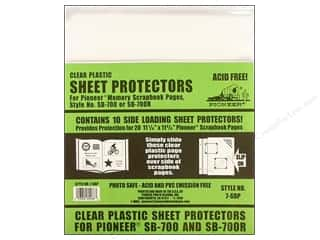 Pioneer Sheet Protector 11.25&quot;x 11.75&quot; 10pc