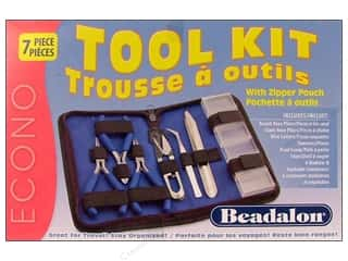pliers round nose: Beadalon Tools Kit with Zip Pouch
