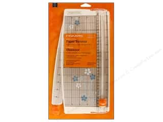 "Fiskars Paper Trimmer Euro Craft 12"" Blue Flower"