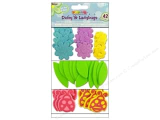 Clearance Darice Foamies Sticker: Darice Foamies Sticker Daisy &amp; Ladybug