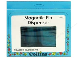 Collins Pin Cushion Magnetic Dispenser with 50 Pin