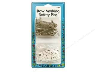 Collins Quilter's Safety Pins Row Marking 26pc