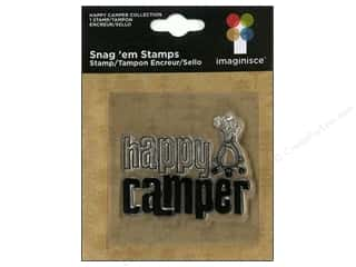Imaginisce Snag &#39;em Stamp Happy Camper