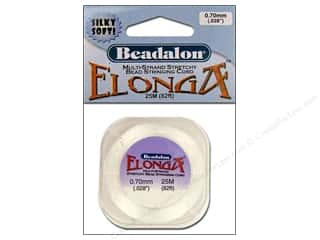 Beadalon Elonga Stretchy Bead Cord .70mm 25M