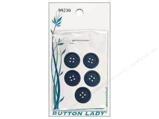 JHB Blue: JHB Button Lady Buttons 5/8 in. Navy #99230 5 pc.