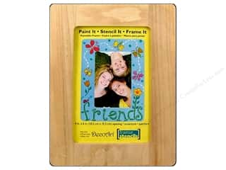 "DecoArt Picture Frame Wood 4""x 6"" Opening"