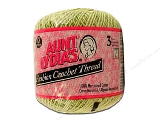Pearl Cotton $21 - $23: Aunt Lydia's Fashion Crochet Thread Size 3 #264 Lime