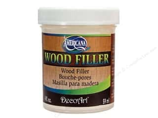 Americana Glue and Adhesives: Decoart Americana Wood Filler 4oz