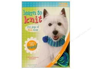 Leisure Arts Kit Learn To Knit Scarf For Dogs