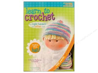 Leisure Arts Yarn & Needlework: Leisure Arts Kit Learn To Crochet Hat