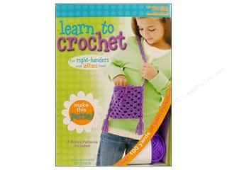 Leisure Arts Kit Learn To Crochet Purse