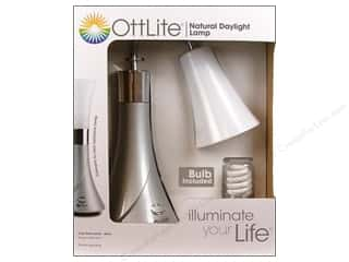 Ott-Lite Lamp Tulip Desk Silver