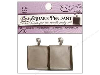 Picture/Photo Frames Beading & Jewelry Making Supplies: Quilled Creations Jewelry Art Pendants Square