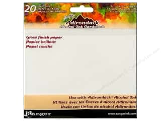 "Note Cards $4 - $5: Ranger Adirondack Alcohol Ink Cardstock 4.25""x  5.5"""