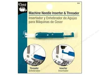 Singer Needles, Pullers, Cases & Threaders: Machine Needle Inserter and Threader by Dritz