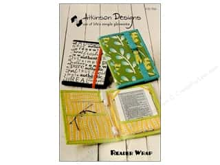 Atkinson Design Purses, Totes & Organizers Patterns: Atkinson Designs Reader Wrap Pattern