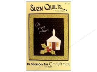 Suzn Quilts Patterns: Suzn Quilts In Season for Christmas Pattern