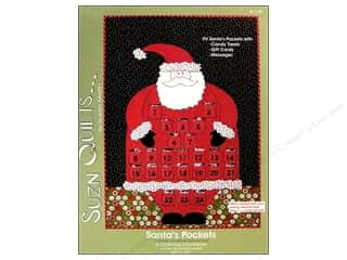 $24 - $42: Suzn Quilts Santa's Pockets Pattern