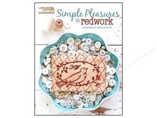 Book-Needlework: Leisure Arts Simple Pleasures In Redwork Book