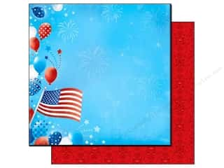 Best Creation Paper 12x12 Love America PledgeAlleg (25 sheets)